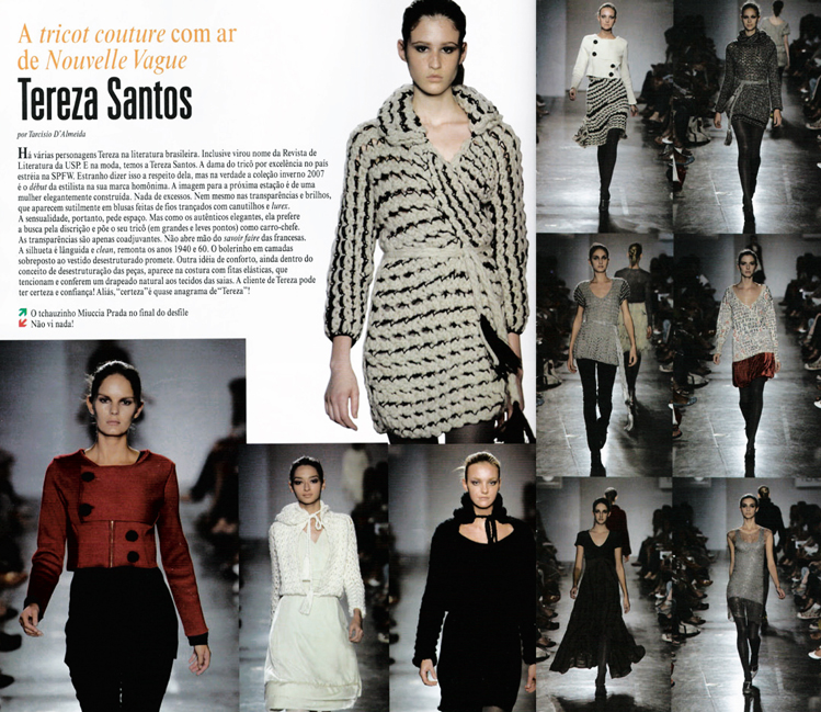 TS STUDIO - REVISTA SPFW