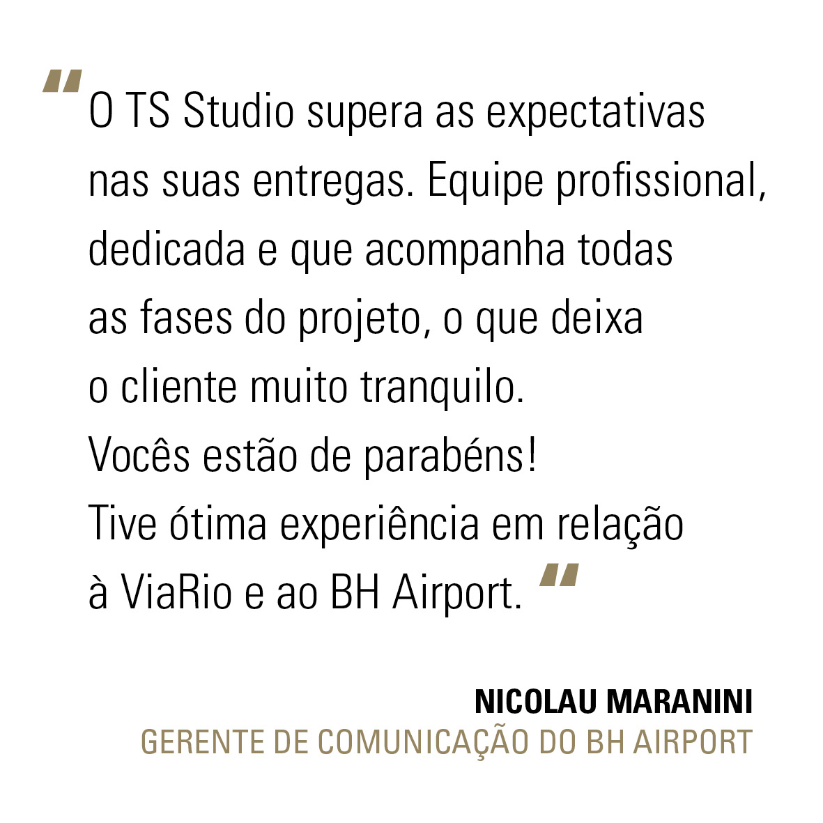 FRASE BH AIRPORT